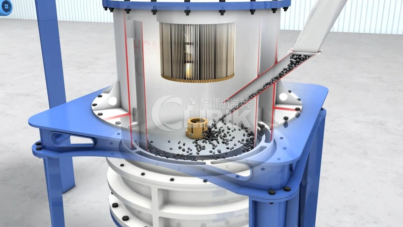 powder selection system of grinding mill